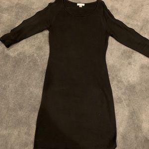 Calvin Klein sweater dress with sleeve detail